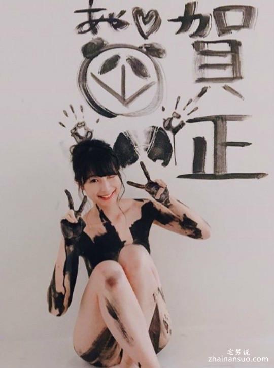 日本写真女星川崎绫 2018性感写真女星大赏夺冠-宅男说