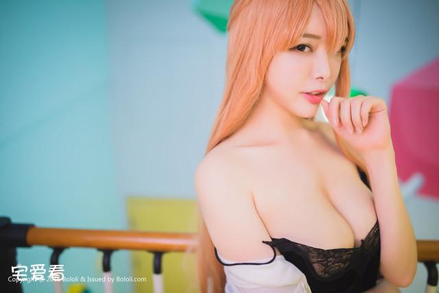 性感少女皆川茜cosplay作品,性感火辣身材福利图