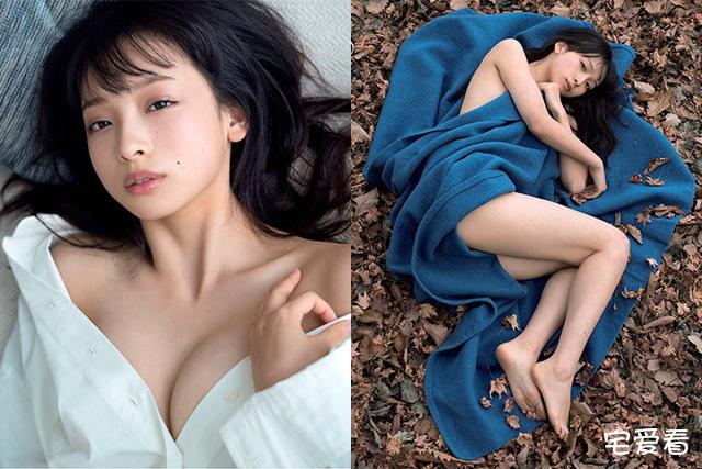 日本女星「华村飞鸟」写真集,纯白世界展现性感肌肤