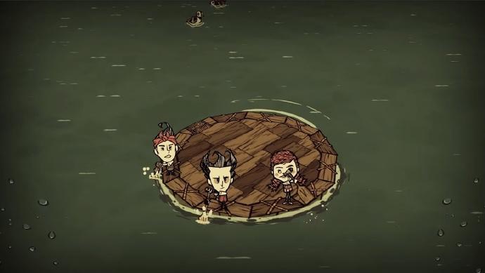 《饥荒》新更新「回归:潮汐转折」内容今日上线 建造船只在海上冒险
