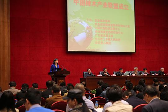中国辣木产业联盟「成立」的初衷