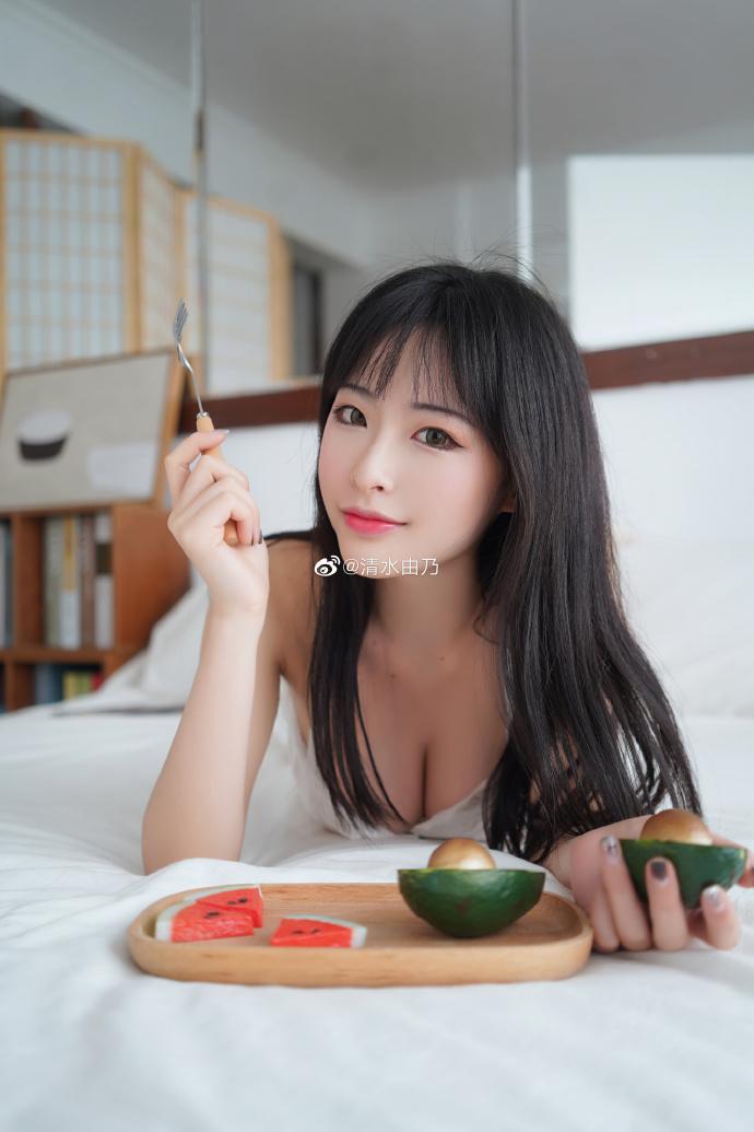 妹子圖@清水由乃 S9最美應援尤物女主播 妹子圖 熱圖2
