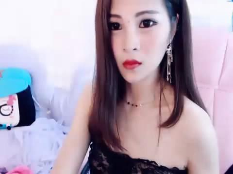 妖艳美女主播黑色透视装黑丝高跟+粉红情趣肚兜 2V视讯