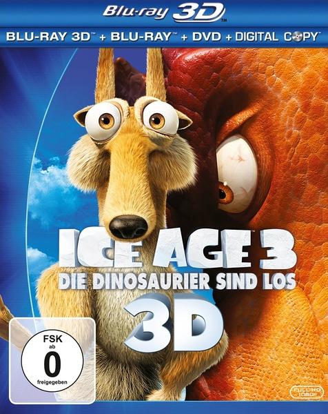 2009高分动画冒险《冰河世纪3/冰川时代3》BD720P.国粤台英.高清中英双字