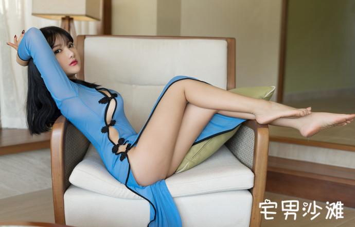 【妹子图】秀人网美女模特「小尤奈」私房福利写真两套
