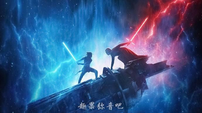 《星球大战9::天行者崛起》海报