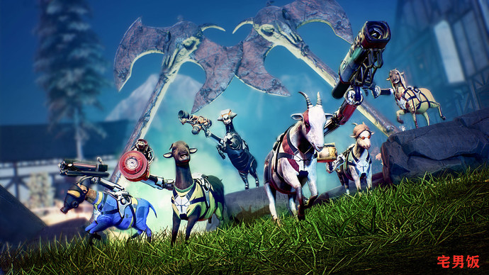 使命山羊(Goat  of  Duty)一款代替《使命召唤》的游戏诞生了