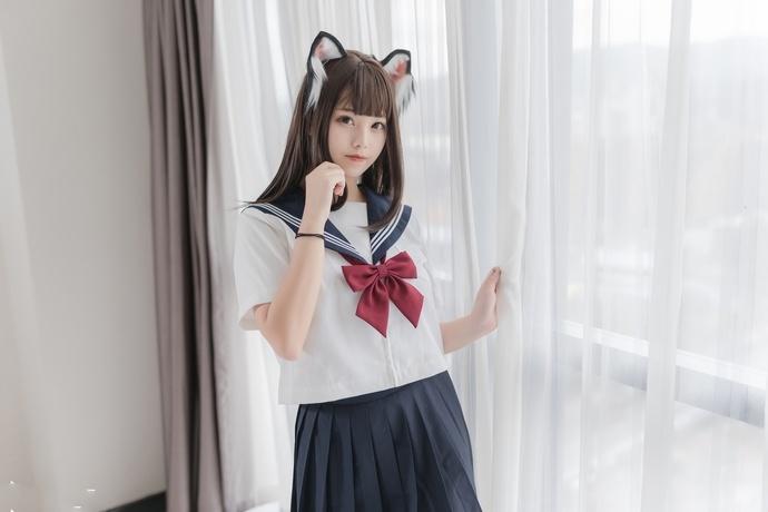 猫耳 JK(40p) 兔玩映画