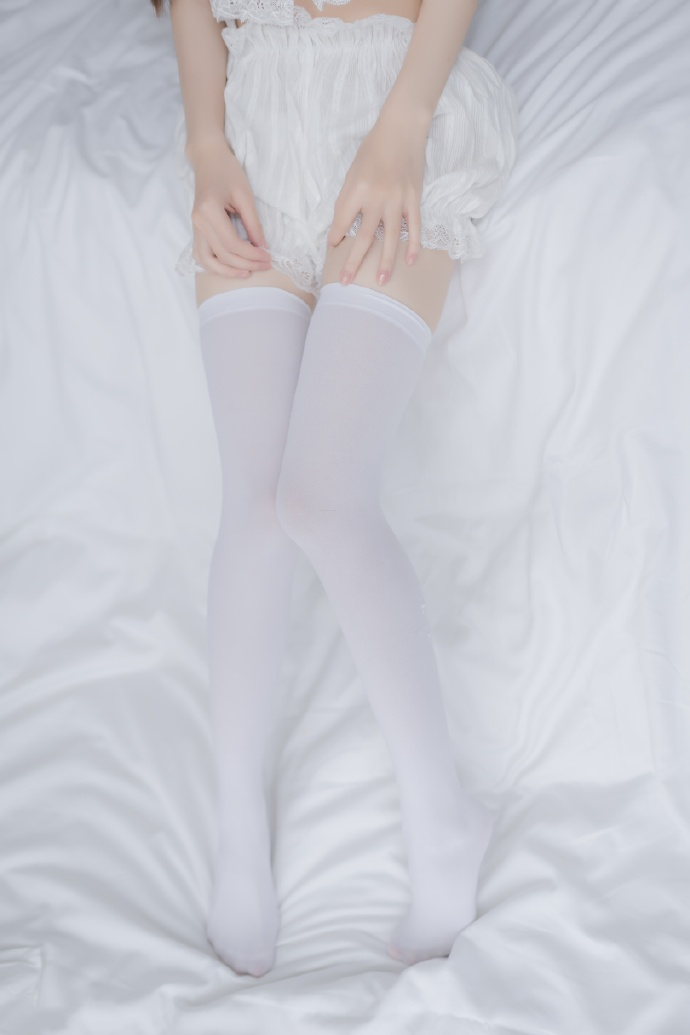 白色双马尾(40p) 兔玩映画