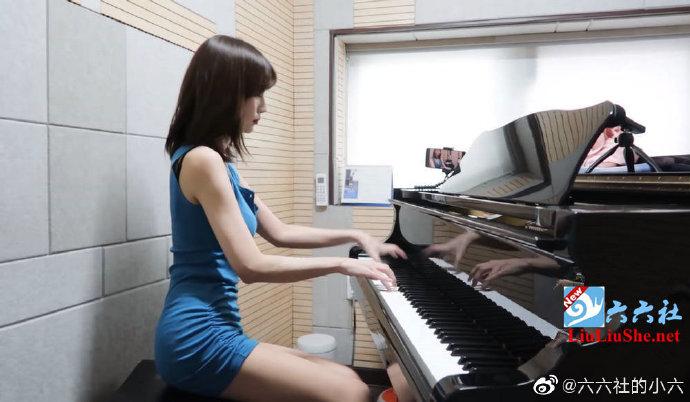 韩国漂亮女孩都会弹钢琴么?弹钢琴成了女神速成法? liuliushe.net六六社 第2张
