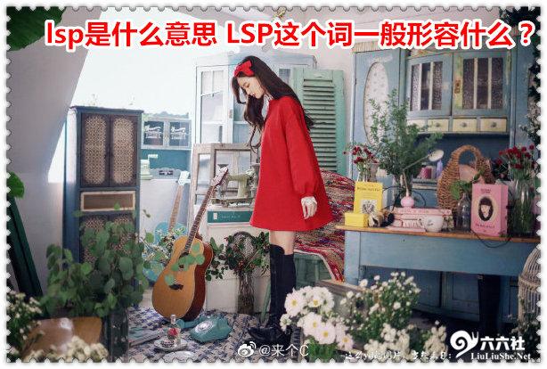 今日新鲜事002期:lsp是什么意思 LSP这个词一般形容什么? liuliushe.net六六社 第2张