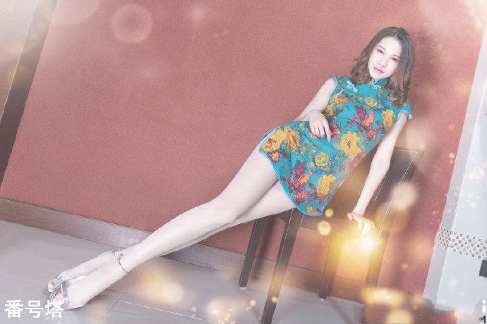 旗袍女神姬乃杏树个人资料介绍,及其穿旗袍图片欣赏