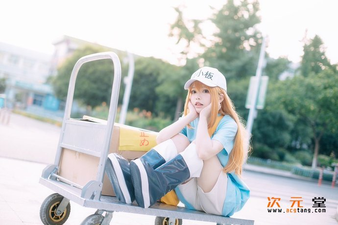 [coser六二二同学]cosplay神还原战斗天使阿丽塔插图(21)
