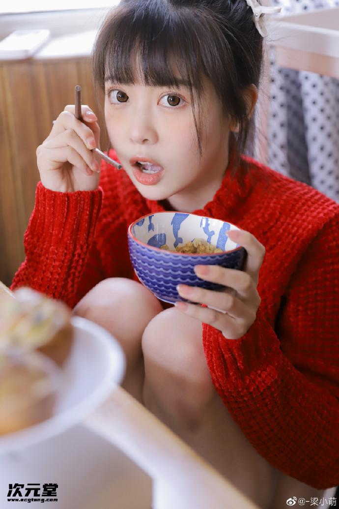 微博甜美妹子@梁小萌,真的是人如其名真的超萌!!插图3