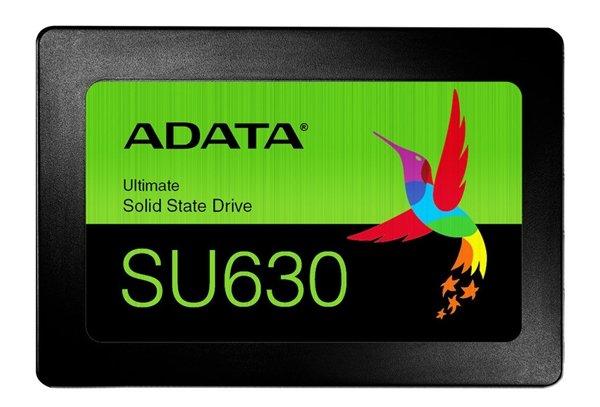 威刚SU630 SATA3固态盘发布:QLC闪存、读速520MB/s