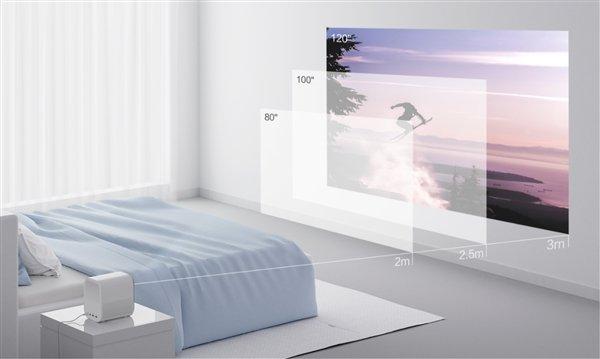 2199元!米家投影仪青春版正式发布:120英寸1080P+LED光源