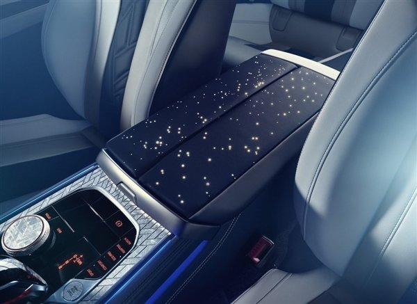 宝马8系夜空版:渐变车身/镶嵌陨石 全球仅一台