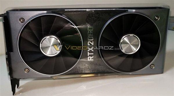 国外经销商悄然上架RTX 2060 6GB显卡:约2700元