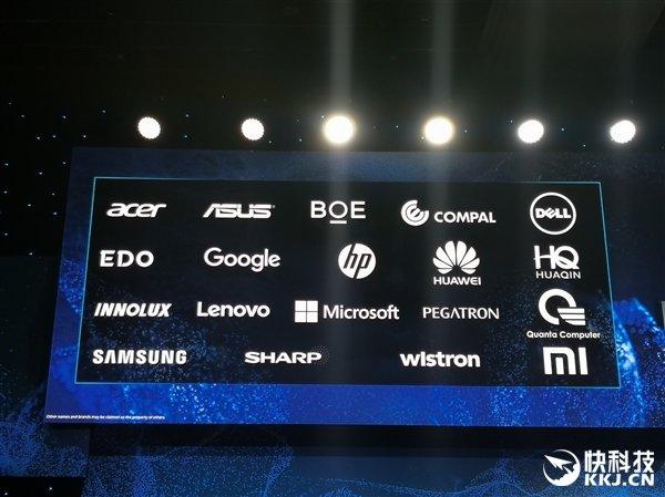 Intel启动全新笔记本Athena:5G始终在线 华为/小米加盟