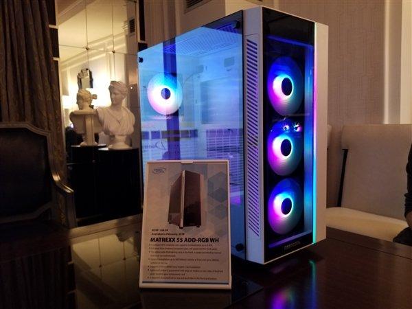 CES2019:九州风神风冷之王散热器、多款机箱发布