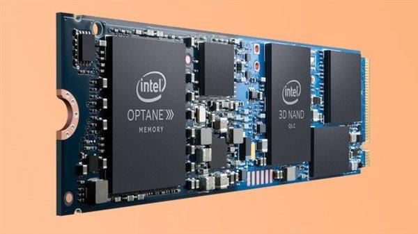 """Intel发布傲腾H10混合型SSD:大容量QLC打上""""鸡血"""""""