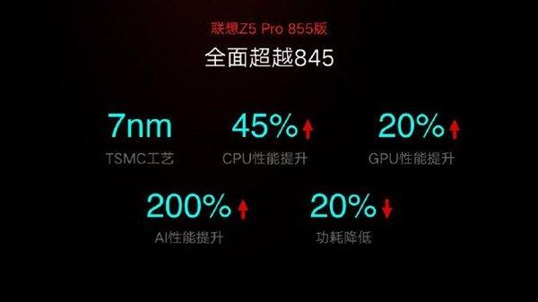 地表最强手机!联想Z5 Pro GT 855版安兔兔跑分出炉:超37万