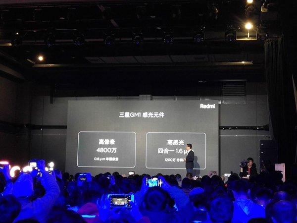 满血版骁龙660/4800万超清相机 红米Note 7发布:999元起