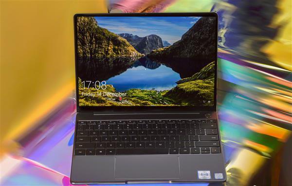 美与生产力兼得 华为MateBook 13笔记本深空灰版22日上市