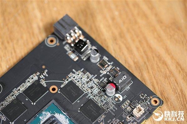 3D立体感十足 索泰GTX 1650毁灭者拆解图赏