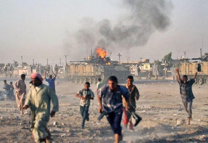 """伊拉克如今的""""兵荒马乱"""",比萨达姆的屠杀只是小儿科"""