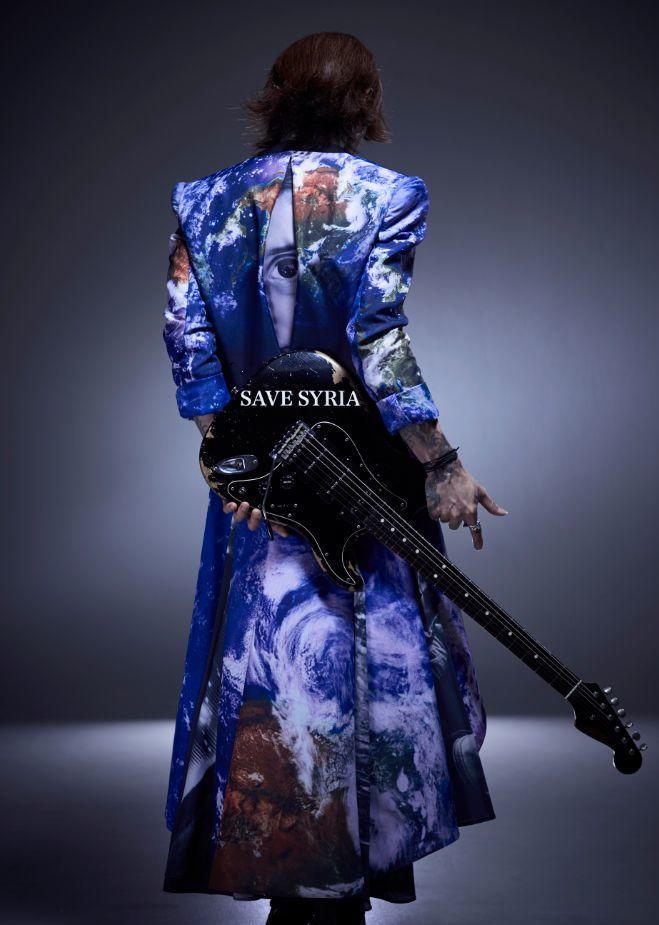 专访日本著名吉他手SUGIZO:Luna Sea就像是我的家