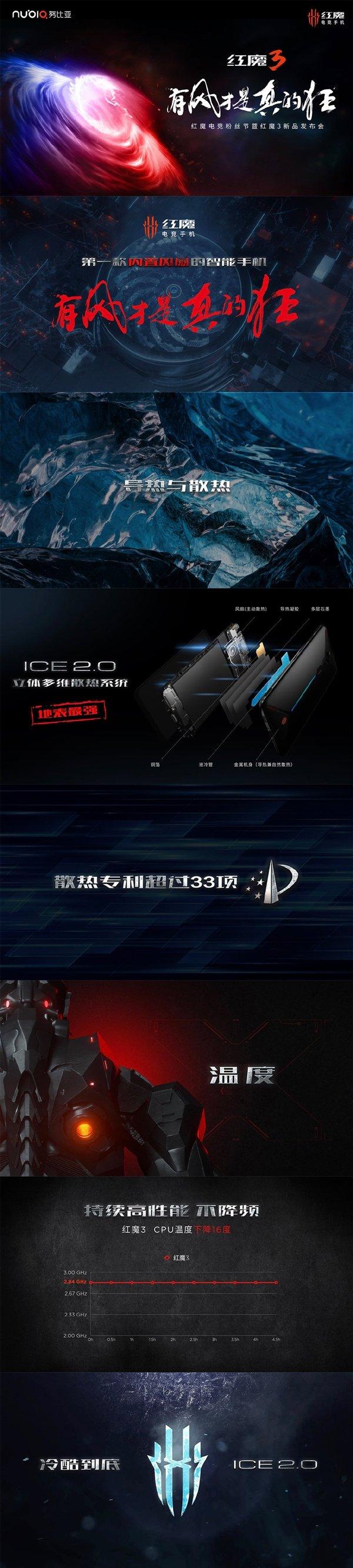 努比亚红魔3电竞手机发布:骁龙855+5000mAh