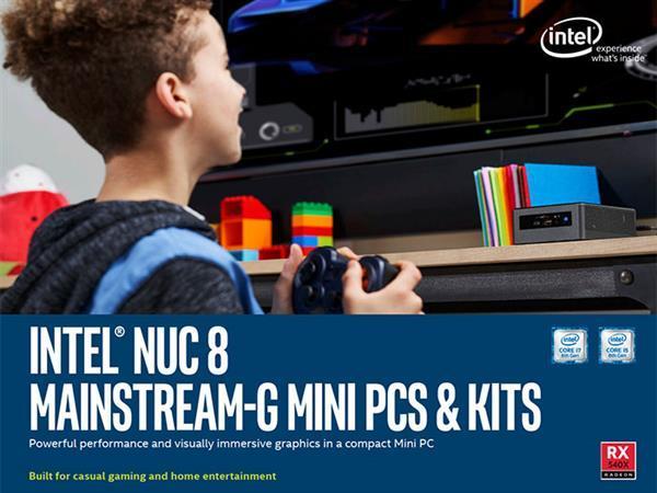 Intel NUC 8迷你电脑开卖:配AMD RX 540显卡