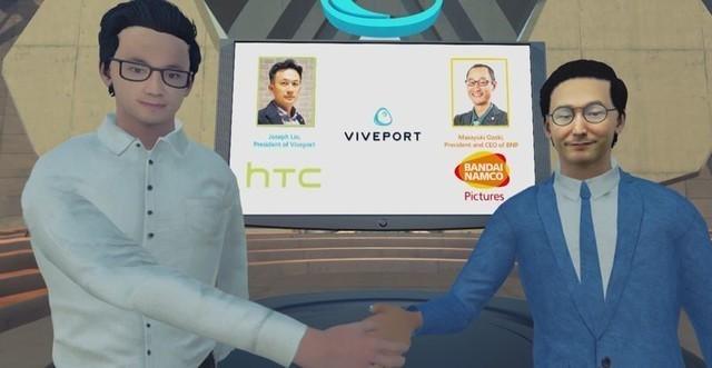 HTC 万代南梦宫影业 VR动画