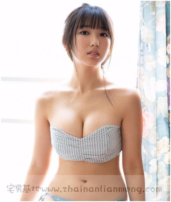 十七岁的「泽口爱华」童颜巨ru,被网友们评选为浅川梨奈的继任者插图6