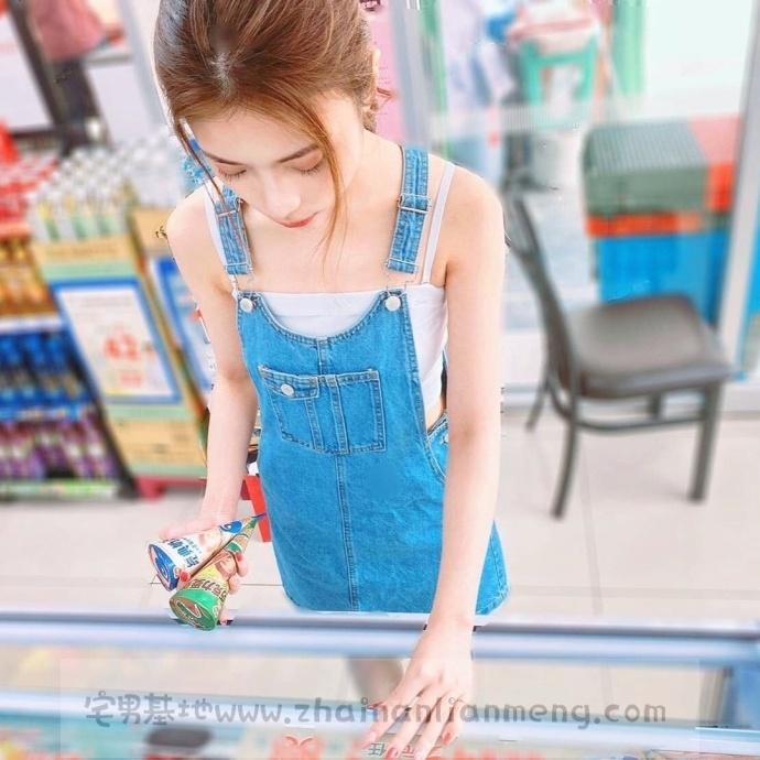 家X福百货店碰到「超萌美少女」,长发飘逸柔秀气可爱美讨人喜欢插图1