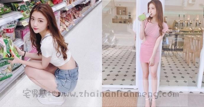 家X福百货店碰到「超萌美少女」,长发飘逸柔秀气可爱美讨人喜欢