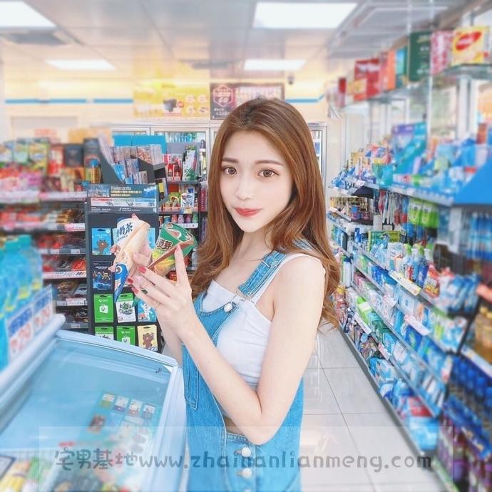 家X福百货店碰到「超萌美少女」,长发飘逸柔秀气可爱美讨人喜欢插图3