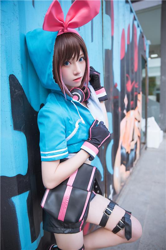 卡哇伊cosplay,小可爱的兔耳朵与樱花插图22