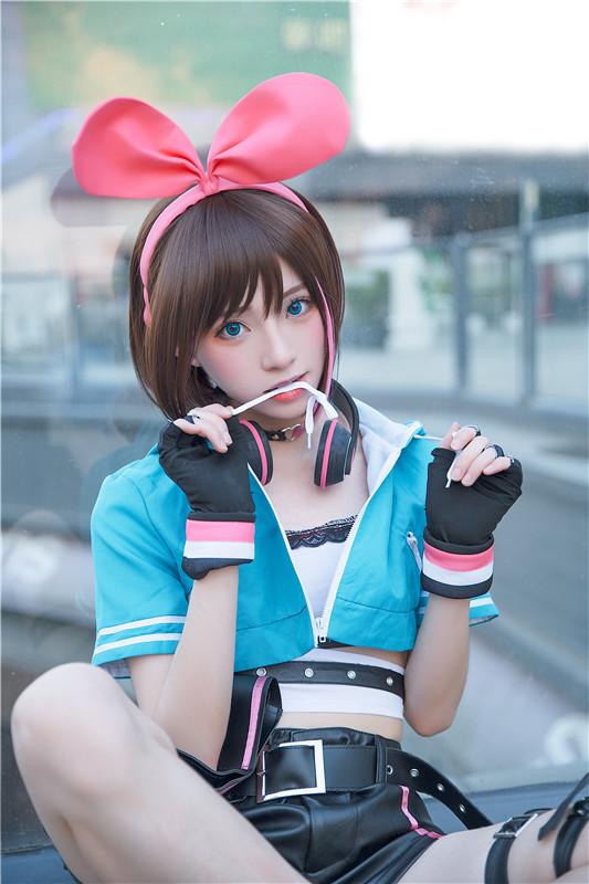 卡哇伊cosplay,小可爱的兔耳朵与樱花插图25