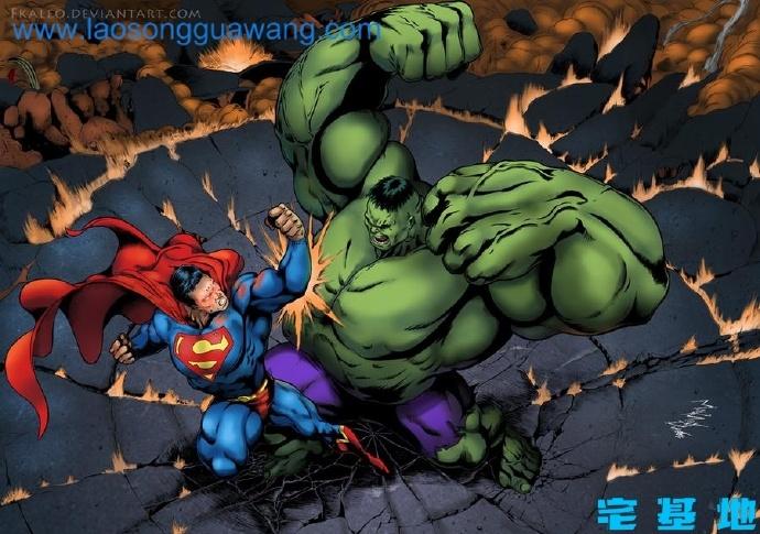 漫威的浩克与DC的超人哪一个更强?这里告诉你答案插图3