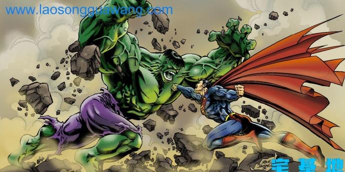 漫威的浩克与DC的超人哪一个更强?这里告诉你答案