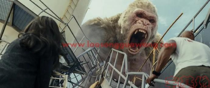「狂暴巨兽」最新电影评价观后感悟剧情解析:巨石强森再一次拯救了世界
