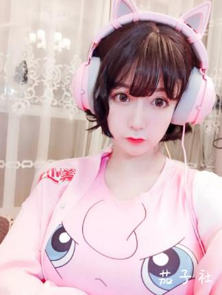 猫九酱Sakura@F罩杯的斗鱼主播 宅猫猫 热图4