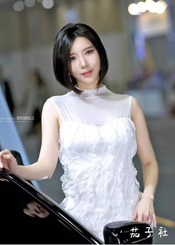 韩国车模闵汉娜 充满野性的小皮裤女神 宅男福利 第11张