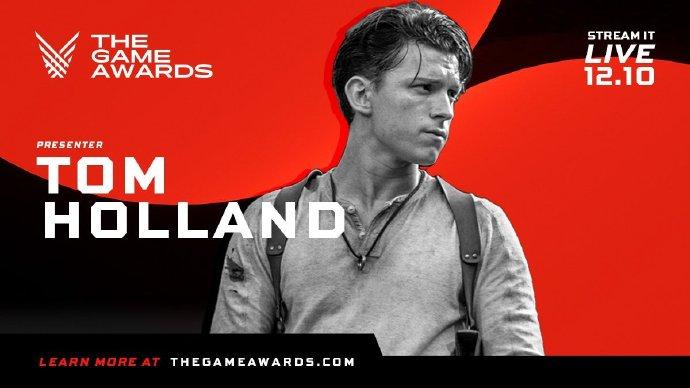 《秘境探险》真人版预告要来了?游戏大奖宣布 Tom Holland 将任颁奖嘉宾