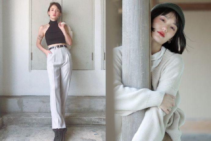 泰国爆红广告女主角就是她 NAPASSANAN 娇小型网红示范秋冬穿搭