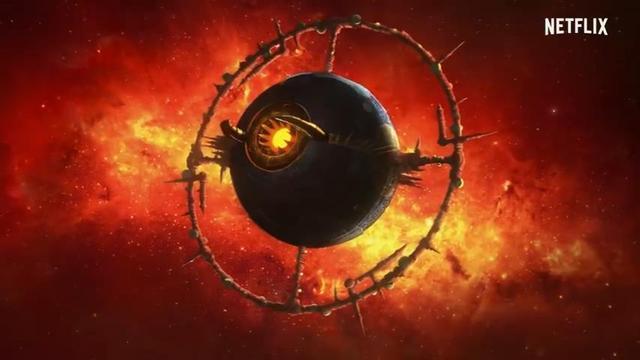 netflix出品的动画《变形金刚:赛博坦之战三部曲 地球崛起》公开中文预告