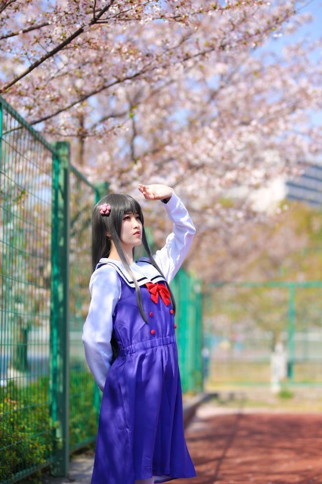 【cosplay】菟子酱天使降临到我身边白咲花cos图片壁纸