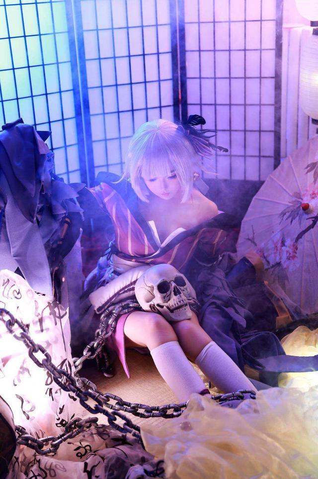 【cosplay】阴阳师以津真天cos壁纸图片